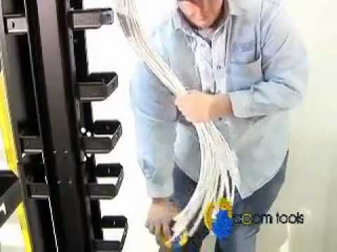 Cable Comb - Cable Dresser, Bundler, and Organizing Tool by ACOM Tools