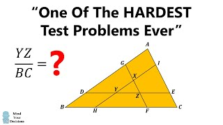 """""""One Of The Hardest Problems Ever"""" - Exam In Australia"""