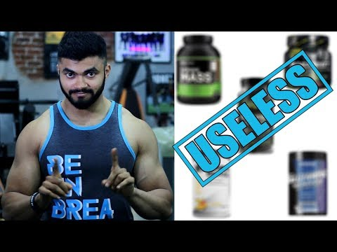 Top 5 Supplements that are a Complete WASTE OF MONEY
