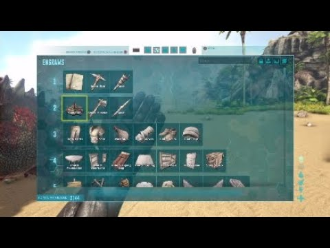 ARK|HOW TO GET ALL ENGRAMS w/CONSOLE COMMANDS.