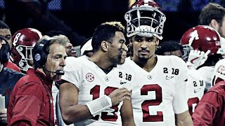 Thoughts on Tua Tagovailoa / Jalen Hurts and Alabama players entering the NFL Draft