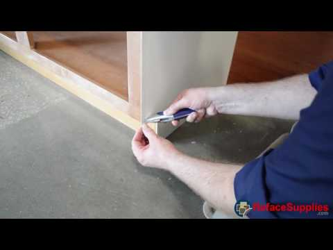 Section 5.2 Lamination - How to Reface - Refacing Cabinets
