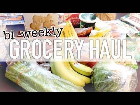 ONLINE GROCERY SHOPPING! || BI-WEEKLY GROCERY HAUL || FAMILY OF THREE