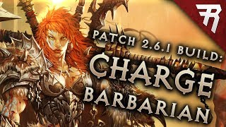 Diablo 3 2.6.5 Barbarian Build: Charge! Gr 121  And Speed (guide, Season 17)