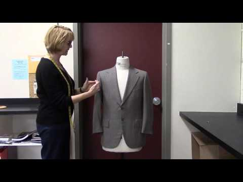 How to Place Stripes When Cutting Men's Suits