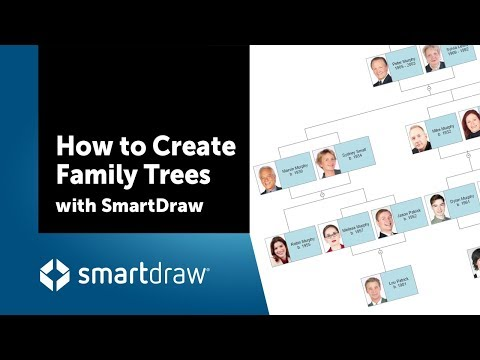How to Create Family Trees with SmartDraw