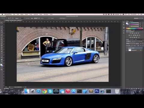 How to Change Colour of a Car in Photoshop CC/CS6 [HD][4K][Tutorial][Guide] 2017