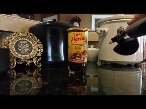 How to open jar of mole