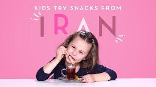 Kids Try Snacks from Iran   Kids Try   HiHo Kids