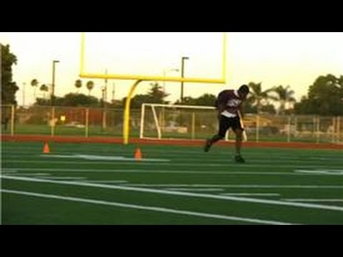 Football Skills : How to Be a Good & Faster Running Back
