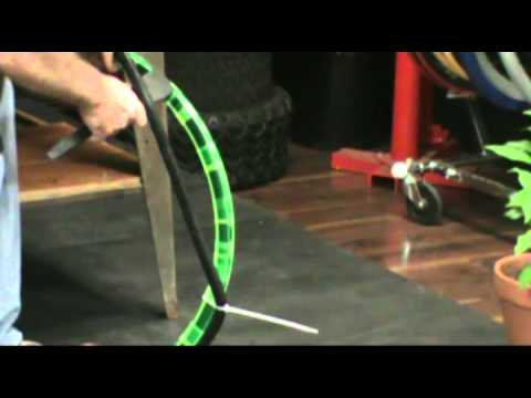 Airless Bicycle Tire Installation