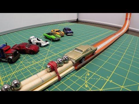 Science Fair Grand Champion - Super Magnet Gaussian Car Launcher