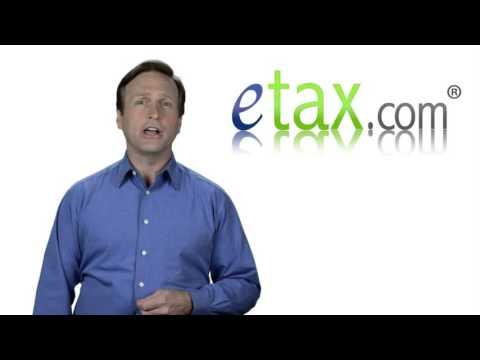eTax.com Sales Tax Itemized Deduction
