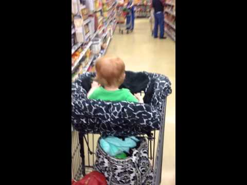 Connor at the Grocery Store