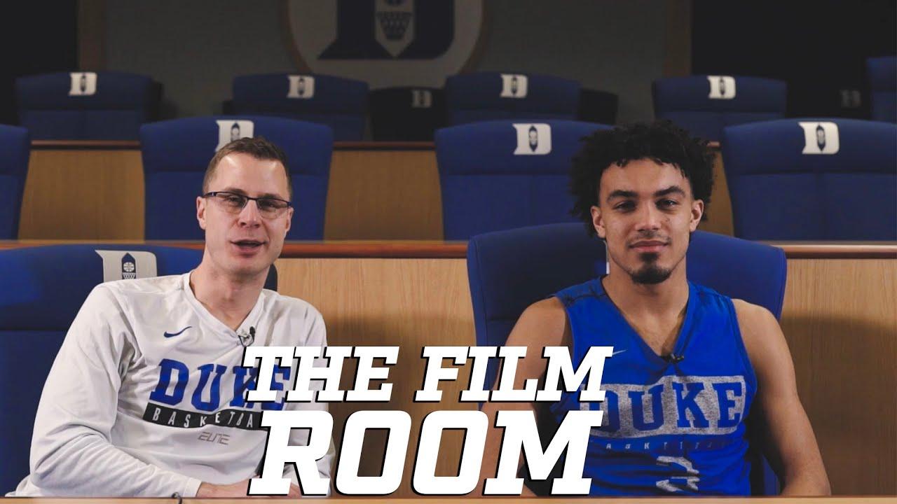 The Film Room: Jon Scheyer with Tre Jones After Epic UNC/FSU Wins (2-14-20)