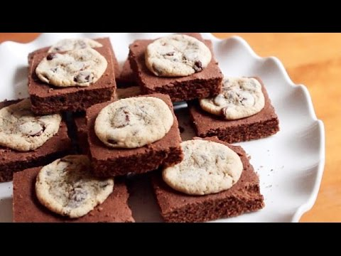 Cookie Drop Brownies | SweetTreats