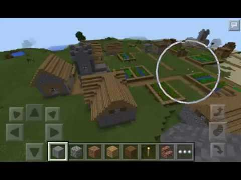 Minecraft: Pocket Double Village Seed