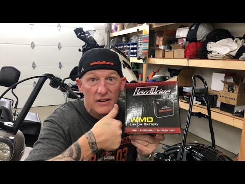 Testing New Lithium-Ion Battery For Harley? Too Expensive? $$$$$$