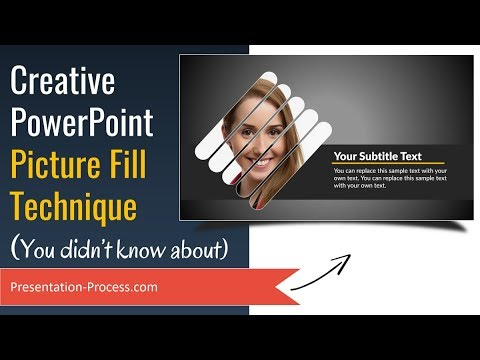 Creative PowerPoint Picture Fill Technique (You Didn't Know)