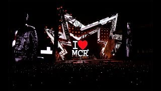 robbie williams manchester were strong