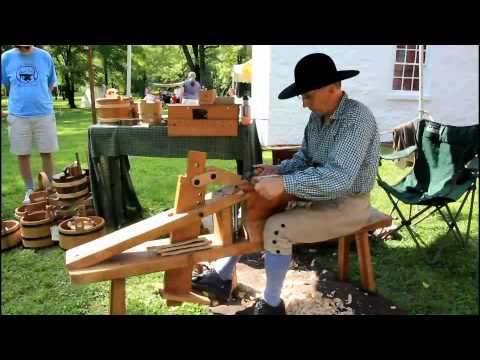 Moland Reenactment   Cooper   Colonial Barrels
