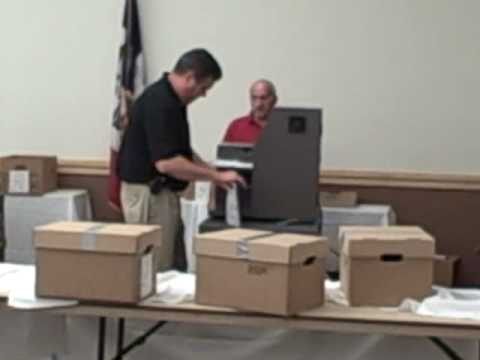 Counting Absentee Ballots in Iowa