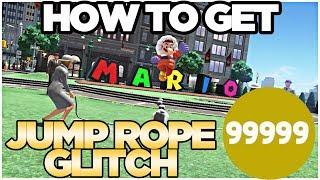 *NEW GLITCH* How to Get 99999 Jump-Rope in Metro Kingdom Super Mario Odyssey | Austin John Plays