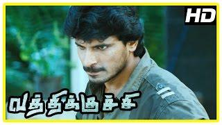 Vathikuchi Movie Scenes | Sampath Raj recollects his encounter with Dileepan | Ravi Mariya
