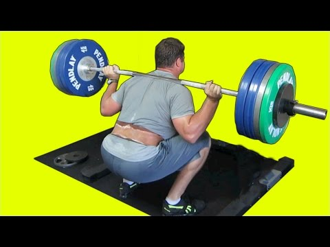 HOW TO GET IN SHAPE AND HEAL A HERNIATED DISC : SQUAT DEADLIFT BENCH WORKOUT INSPIRATIONAL VIDEO