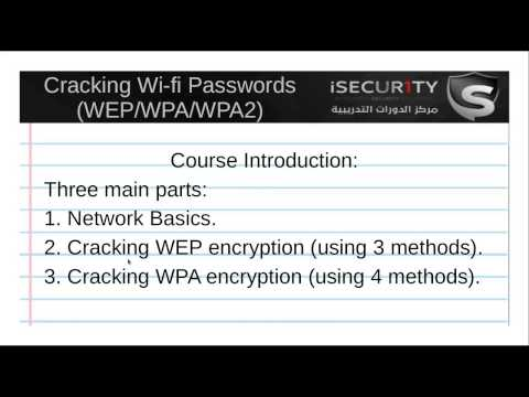 Learn Cracking Wi-fi Passwords Keys (WEP WPA WPA2)-1  Introduction