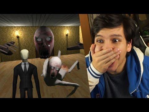 HE CONSEGUIDO ESCAPAR !! ¿EL HIJO DE SLENDRINA CRECIÓ? FINAL - Slendrina (Horror Game)