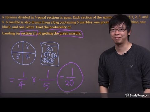 ʕ•ᴥ•ʔ Probability of Independent Events: Easy to understand example - part 2