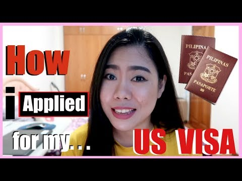 PAANO AKO NAG APPLY NG US TOURIST VISA (STEP BY STEP) | THELATEBLOOMER11