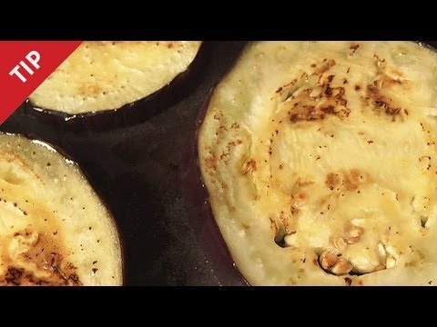 Non-greasy Fried Eggplant - CHOW Tip