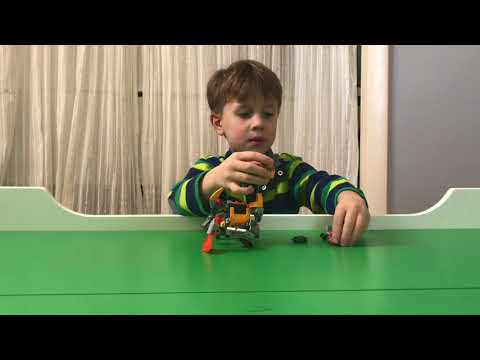 LEGO NEXO KNIGHTS BATTLE SUIT AXL Review