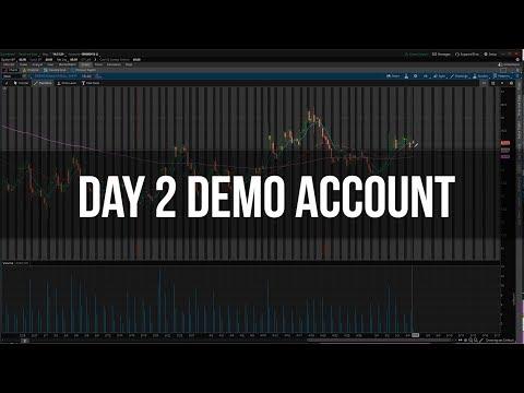 Day 2 - Live Trading Demo Account | PUBG