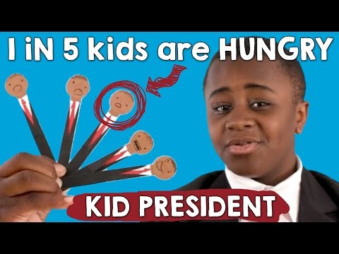 Kid President Needs Your Help to Fight Child Hunger