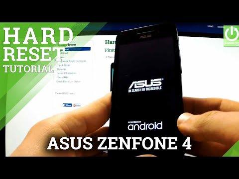 Hard Reset ASUS Zenfone 4 - How to Wipe All Data in Zenfone