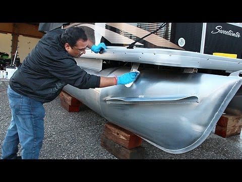 Protective Clear Coat for Aluminum Pontoon Boats