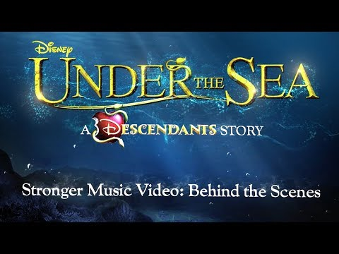 Behind the Scenes of the Stronger Music Video 🐚 | Descendants