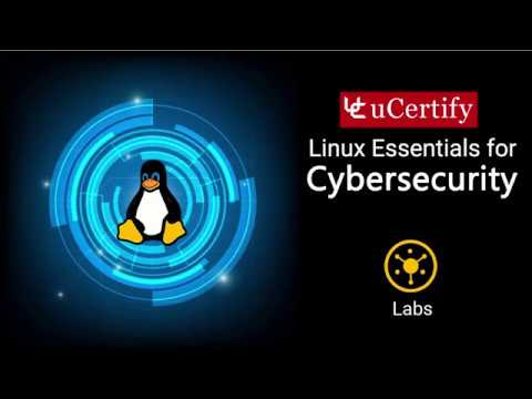 Linux Essentials for Cybersecurity Pearson uCertify Labs