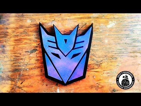 I Make A Transformers Decepticon Logo