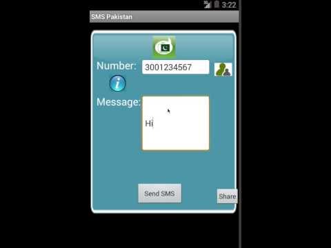 Android Free SMS Pakistan App Review