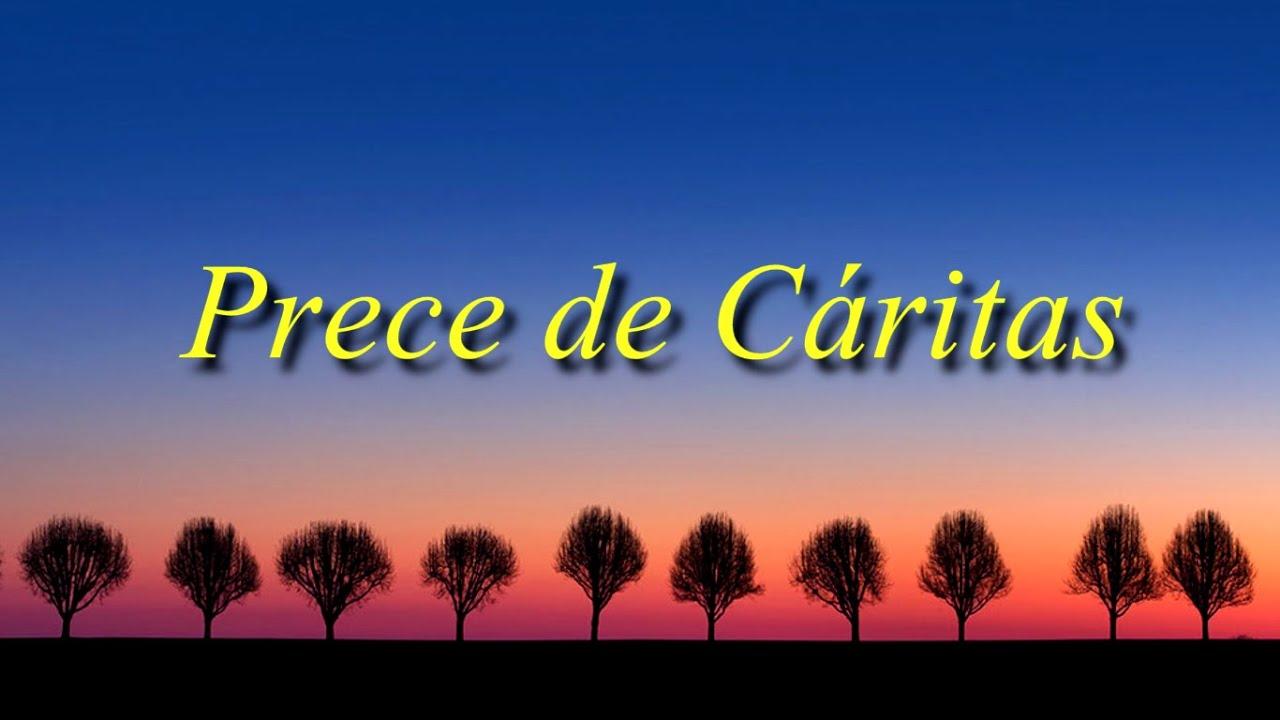 PRECE DE CÁRITAS