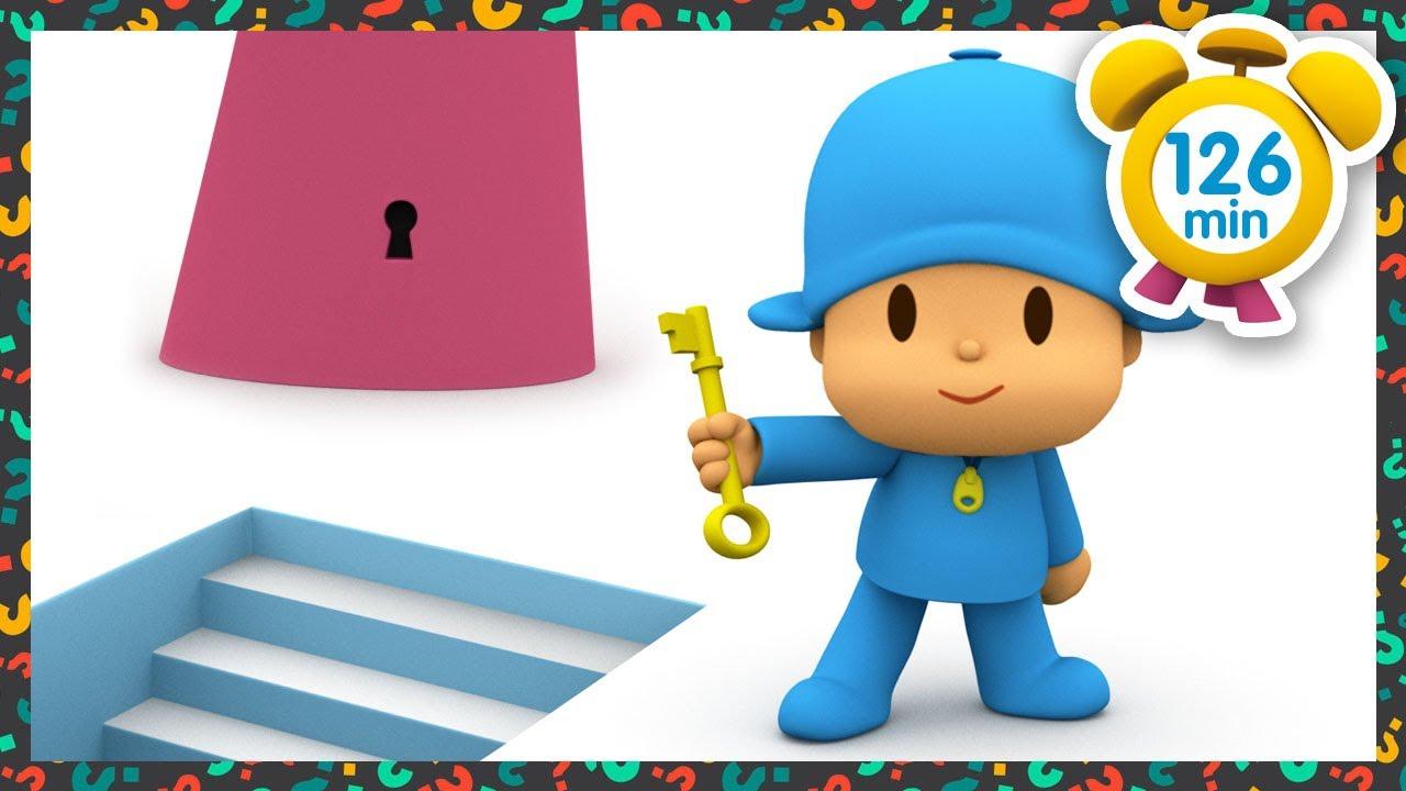 🔑 POCOYO DEUTSCH - Der Generalschlüssel [ 126 min ] | Cartoons für kinder