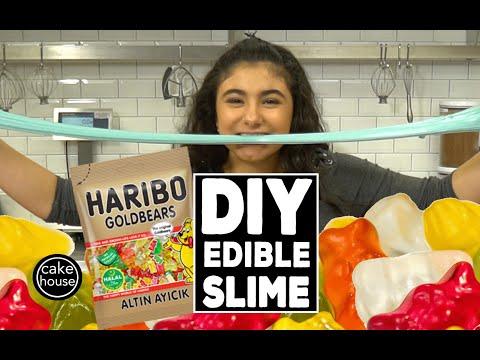 How to make DIY EDIBLE SLIME with Cake Boss's Sofia