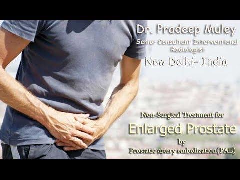 symptoms & Diagnosis of Enlarged Prostate