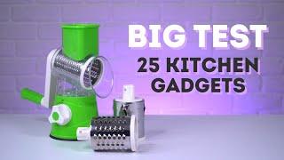BIG TEST - 25 Kitchen Gadgets for Vegetables (Part #1)
