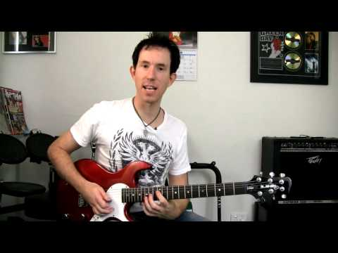 How to play Sweet Child O Mine - Easy Guitar Lesson (Intro)