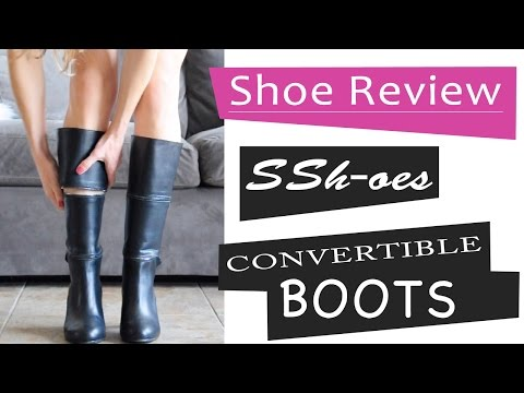 Quiet Shoes? Testing Convertible Boots by Ssh-oes | Shoe Review